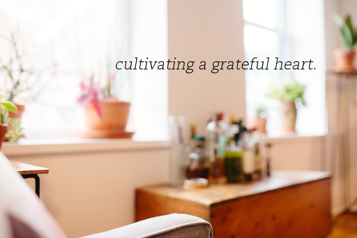 Cultivating a Grateful Heart