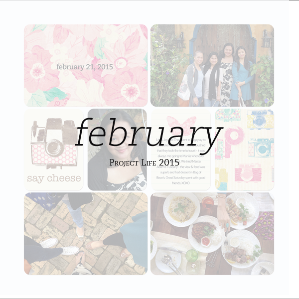 2015 Project Life: February Pages