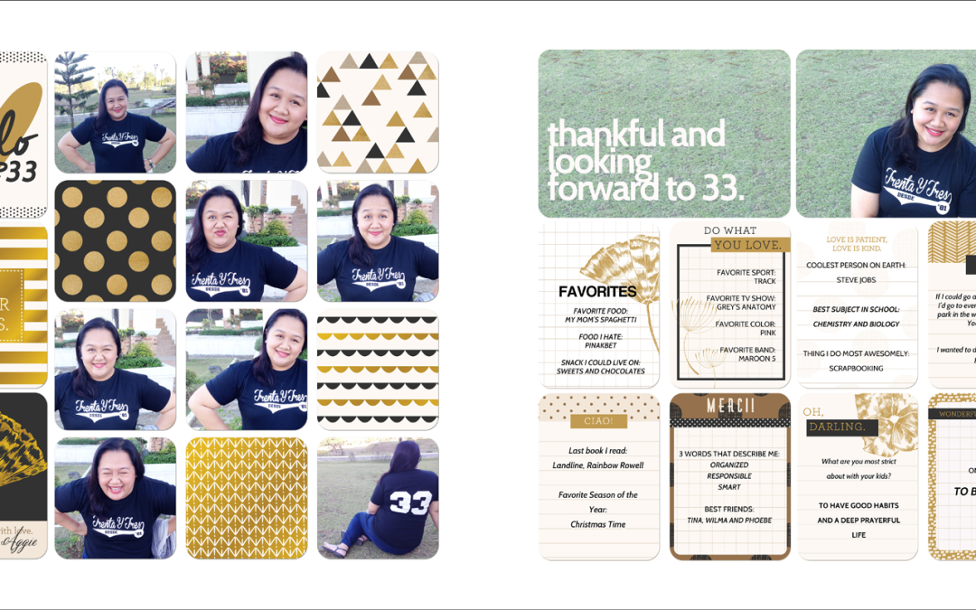 Project Life: Creating Birthday Pages